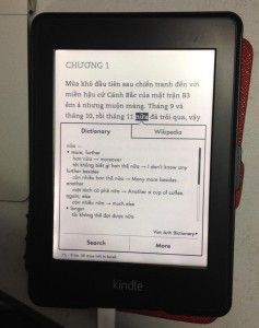 Vietnamese Kindle